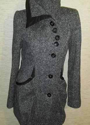 Распродажа женское шерстяное демисезонное пальто фирмы vila