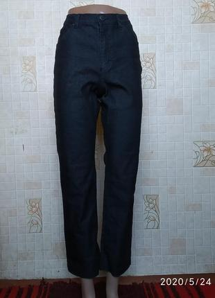 Черные джинсы бойфренды с высокой посадкой 388