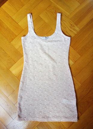 Кружевное платье р.44-46