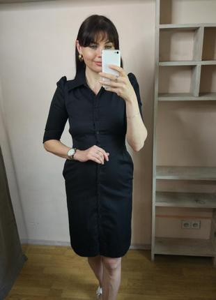 Платье с акцентными рукавами by madonna