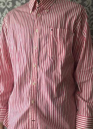 Рубашка tommy hilfiger ralph