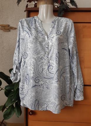 Нежная блуза-рубашка известного бренда, состояние новой вещи