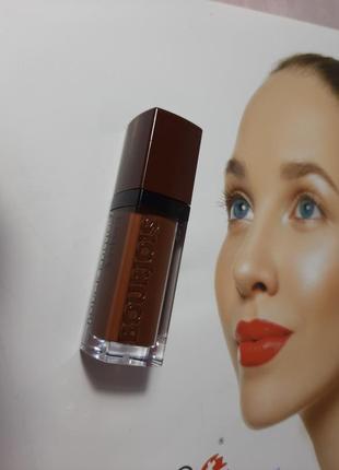 Бархатная матовая помада 💄 velvet lipstick  23 bourjois2 фото