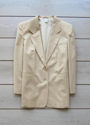 Шикарный пиджак чистая шерсть от peter hahn