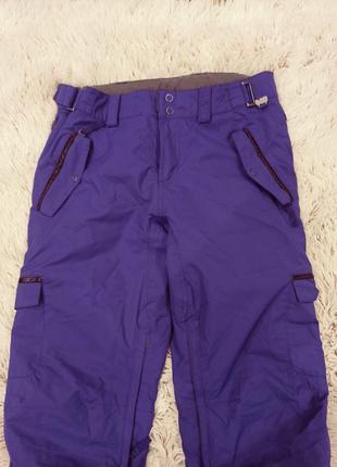 Фирменные горнолыжные брюки, штаны protest