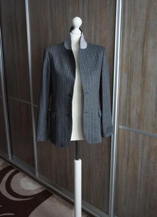 Roberto cavalli шерстяной пиджак. размер s