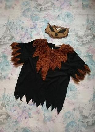 Карнавальный костюм волкодава,оборотень ,костюм на хеллоуин бренд george на 11-12 л