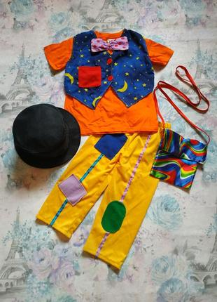 Карнавальный костюм фокусника,маг,фокусник,чародей,колдун на 3-4 года