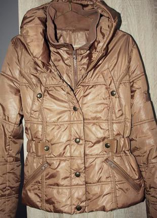 Деми куртка парка m-l