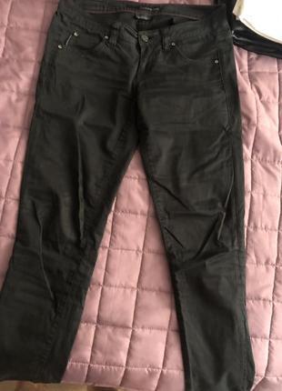 Calvin klein чёрные брюки скини