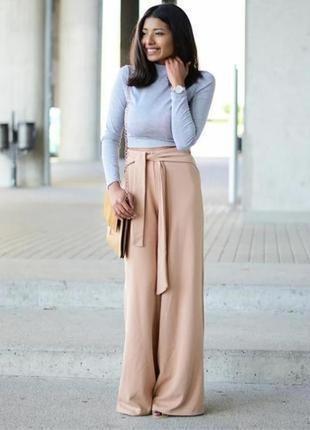 Стильные летние штаны брюки палаццо primark