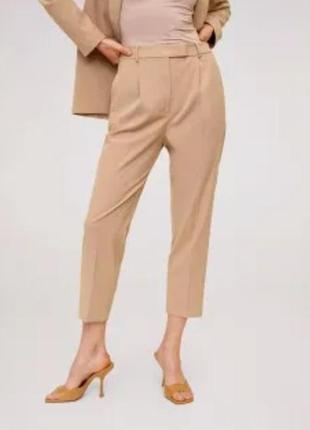 Женские летние лёгкие светлые  штаны брюки большого размера m&s
