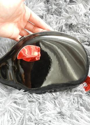 Мини сумочка клатч на цепочке хрюша поросёнок
