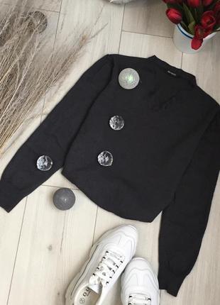 Сіра кофта світшот светр джемпер реглан водолазка худи