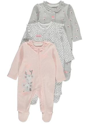 "Человечки george assorted koala print"" 3-6, 9-12 мес"