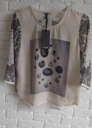 Блузка, рубашка футболка  от maison scotch.