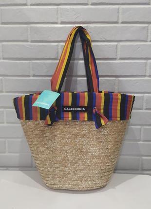 Красивая пляжная сумка caledonia.