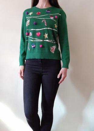 Новогодний свитер ëлочка
