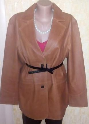 Куртка из 100% натуральной кожи/кожаная куртка/жакет/пиджак/кардиган