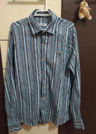 Рубашка мужская размер м -л 42-44