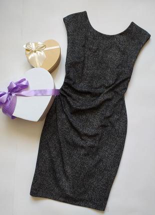 Платье плотный мягкий трикотаж