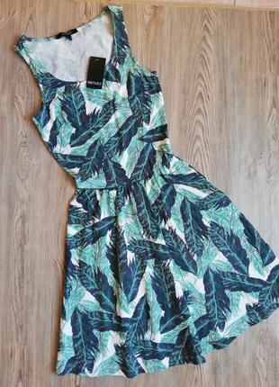 Красивый летный сарафан платье esmara xs