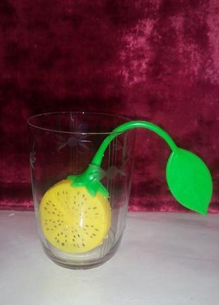 Заварник для  чая ,,лимон,, на одну чашку.