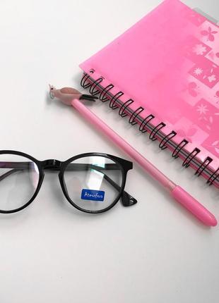 Имиджевые женские очки прозрачные
