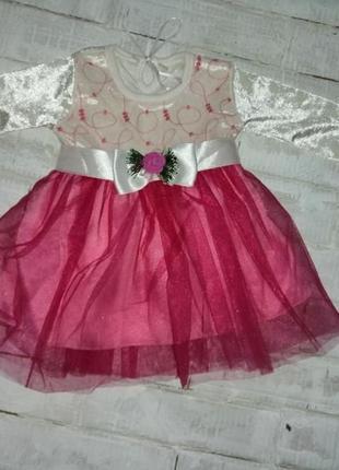Нарядное платье на малышку cicimi baby