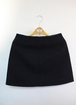 Оригинальные теплая юбка от бренда cos разм. 10