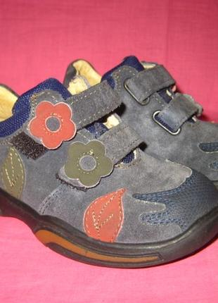 Кожаные туфли ricosta - 24 размер