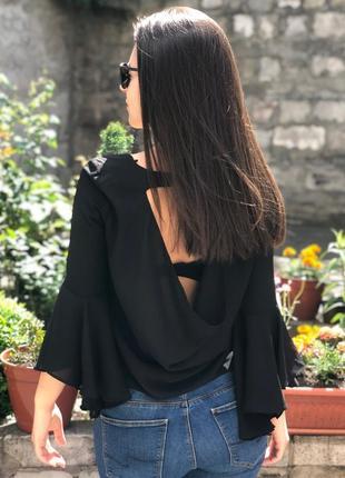 Чёрная блуза, блуза , блуза zara, zara