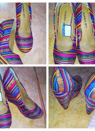 Туфлі madden girl 37.5 розмір