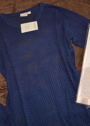 Стильный женский пуловер сетка от blue motion