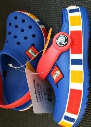 Крокси crocs lego сандали босоножки  + подарок