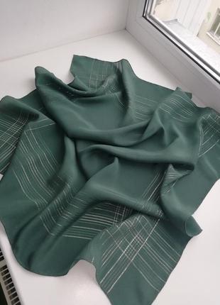 Люкс бренд!!!!  фірмовий шовковий платок jaeger!!! оригінал!!