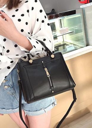 Сумка женская стильная через плечо сумочка жіноча