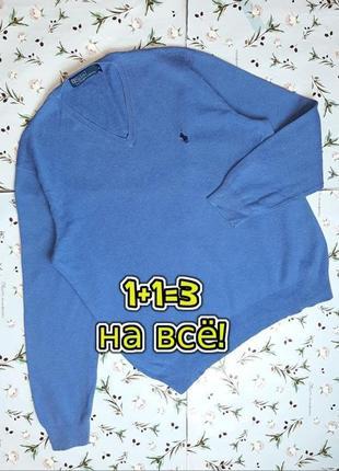 🎁1+1=3 фирменный мужской базовый свитер джемпер ralph lauren оригинал, размер 46 - 48
