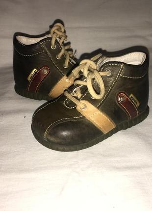 Ботинки *baby botte* кожа германия р.18 ( 11.50см)