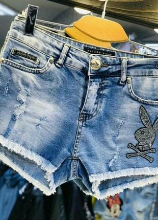 Шорты джинсовые, размер 29