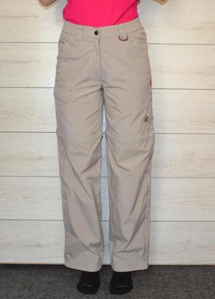 Треккинговые штаны-трансформеры mammut