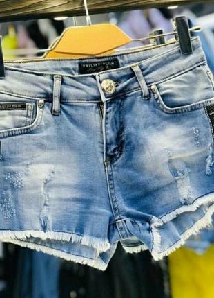 Шорты джинсовые, размер 30