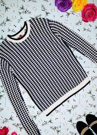 🌿1+1=3 фирменный женский плотный свитер h&m, размер 42 - 44