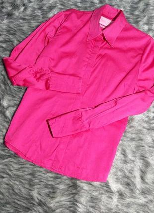 Блузка рубашка из коттона charles tyrwhitt