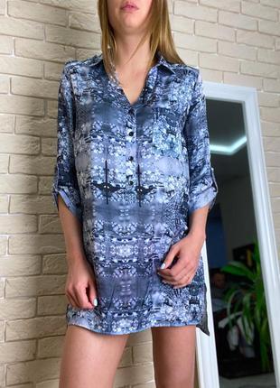 Блузка туника легкая платье