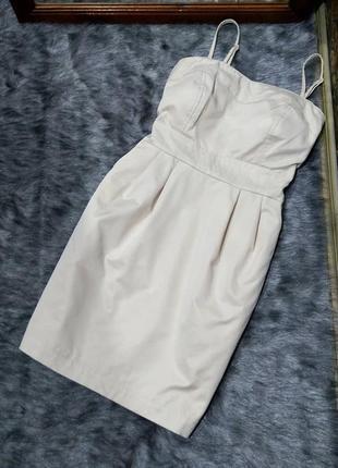 Платье бюстье со сьемными бретелями tally weijl