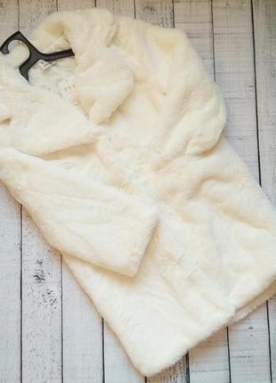 Мягусенькая плюшевая шуба пальто