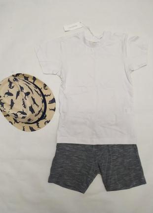 Комплект костюм летний футболка шорты next некст