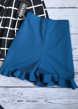 Новые стильные лёгкие шорты цвета морской волны
