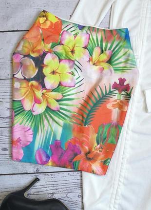 Идеальная летняя юбка в тропический принт